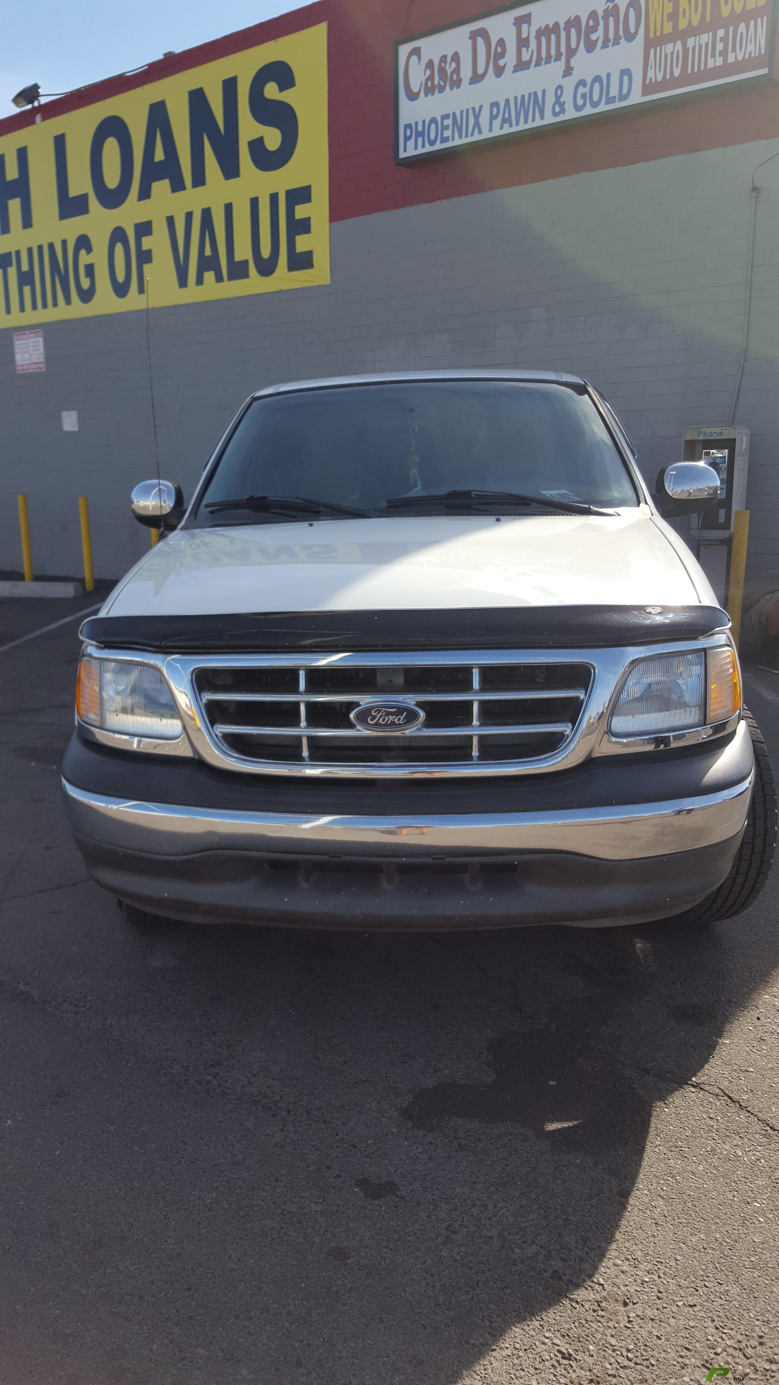 2002 Ford F150 Truck Title Loans Approved $600 Dollars Phoenix