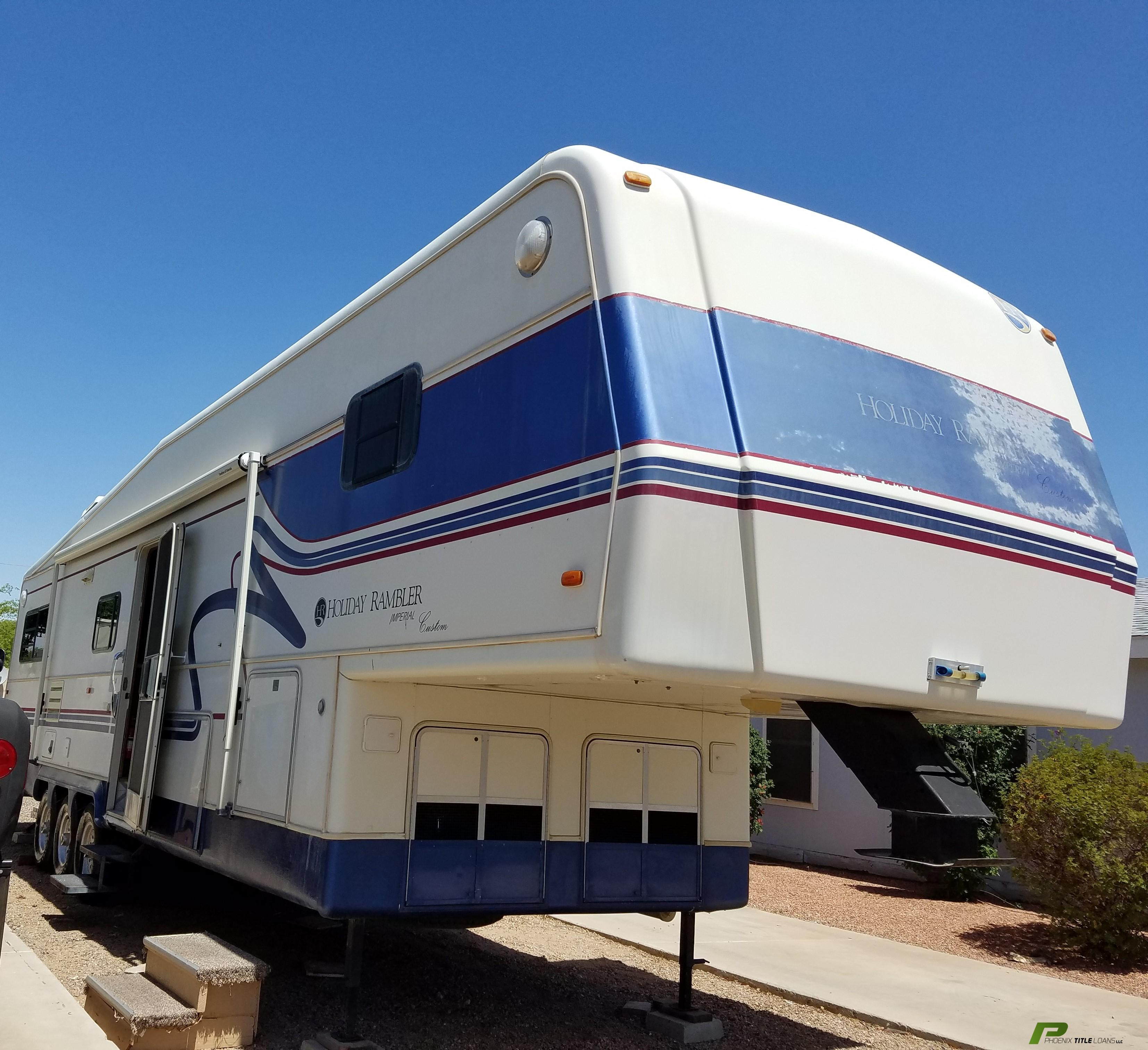 1996 Holiday Rambler Imperial RV Title Loans Approved $2,500