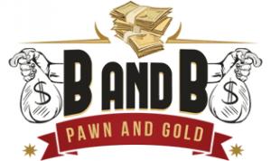 B & B Pawn and Gold Logo